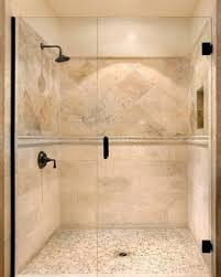 travertine bathroom designs best  travertine shower ideas on