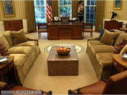 oval office design. Interesting Design The Makeover Of The Oval Office Has Been Widely Panned In Press Reports And  On Throughout Design P