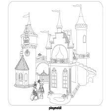 Coloriage Imprimer Chateau Princesse L Int Rieur Coloriage