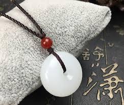 100% <b>Natural</b> 路路通 <b>Xinjiang</b> Kunlun white jade <b>drop</b> pendant AAA ...