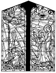 stained glass cross coloring page. Perfect Glass Images For U003e Stained Glass Cross Coloring Page