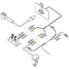 universal atv winch wiring kit universal image new kfi universal atv winch handlebar mini rocker switch warn on universal atv winch wiring kit