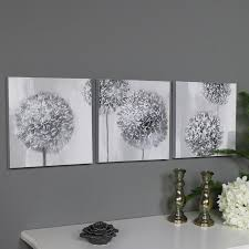 grey wall art canvas