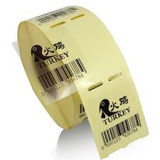 Tranparent Labels 2 Rolls Transparency Pet Adhesive Label Rolls 40 X 50 Mm 500 Labels