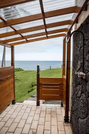 how to build an outdoor shower enclosure that s good looking and functional