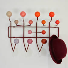 Eames Coat Rack Walnut Eames Hang It All Coat Rack Red 39