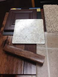 Kitchen Carpeting Flooring Crema Mascarello Countertops Wyoming Cherry Bordeaux Cabinets