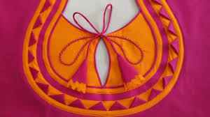 Beautiful Blouse Neck Designs Images Very Beautiful Blouse Neck Design In Very Easy Way