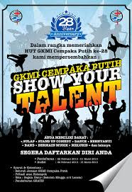 School Talent Show Flyer Template Talent Show Flyer Ktunesound