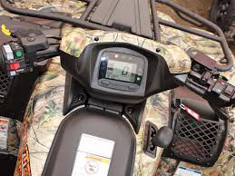 2012 kawasaki brute force 750 4x4i long term review atv illustrated 2012 Kawasaki Brute Force Reverse Wiring Harness control layout on the kawasaki brute force 750 we really like the easy to read digital display and the new, easier to use shifter 2012 Brute Force 750 HP
