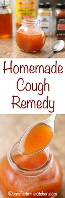 homemade cough remedy get the directions at barefeetinthekitchen com