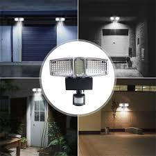 Kitchen Flood Lights 178 Leds Solar Power Panel Flood Light Pir Motion Sensor
