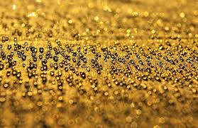 Abstract Background From The Gold Water Stock Photo Colourbox
