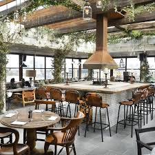 MM: like central bar location With panoramic views of central London and  the docklands, this is one of the ultimate roof top restaurants in London.