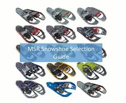 Msr Snowshoe Guide How To Choose Section Hikers