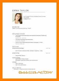 International Biodata Format 11 Cv Format Pdf Letter Setup