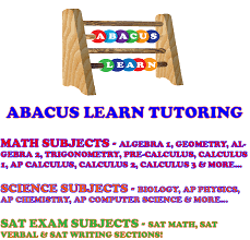 schedule abacus learn math science writing and sat tutoring services abacus learn math science computer science and sat prep tutoring