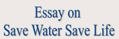 essay and letter writing short essay on save water save life water is one of the natures precious gifts to mankind the volume of the human body is two thirds water it clears the importance of water in our lives