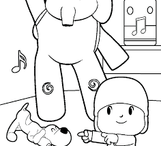Pocoyo Coloring Pages Coloring Pages 0 Super And Page Online Col