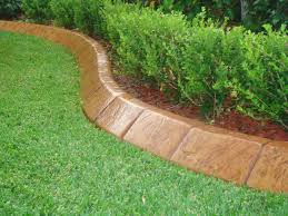 metal edging for garden beds what should you consider before selecting landscape wood strip home