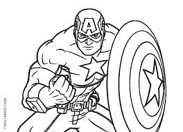 Captain America The Winter Soldier Coloring Pages Captain The Winter