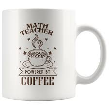 In this episode we help you discover if you are indeed a tea or coffee teacher , but more importantly why it is so important to. Math Teacher Powered By Coffee White Mug Awesome Librarians