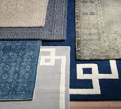 braylin tufted wool rug blue pottery barn tufted wool rugs india