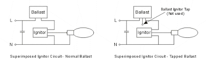 electronic ballast metal halide circuit out a capacitor enter image description here