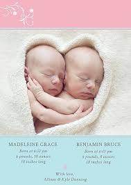 twin birth announcements photo cards featured twins birth announcement cards mother of twins twin birth