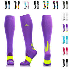 Newzill Compression Socks Size Chart Details About Newzill Compression Socks 20 30mmhg For Men Women Best Stockings For