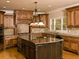 chandelier for kitchen island awesome brown wood l shaped kitchen cabinet combine with dark brown