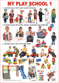 Chart For School Educational Charts Series My Play School 1