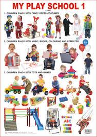 Educational Charts Series My Play School 1
