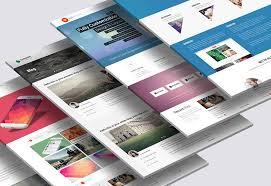 Website Mockup Template Cool 48 Perspective Website Design PSD Mockups DecoloreNet