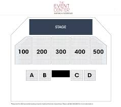 Caesars Atlantic City Venue Seating Chart Atlantic City Concerts Borgata Hotel Casino Spa