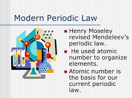 The Periodic Table chapter ppt video online download