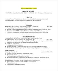 Counseling Resume Simple 48 Camp Counselor Resume Templates PDF DOC Free Premium Templates