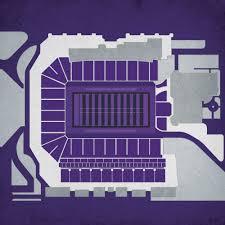Bill Snyder Family Stadium City Prints Map Art Sports