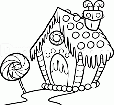Small Picture how to draw a gingerbread house step 8 How to draw Pinterest