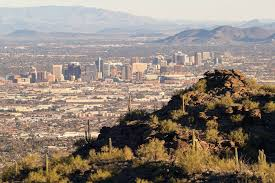 Tucson Elevation Chart Elevations Of Cities In Maricopa County Arizona List
