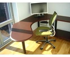 round corner desk rounded