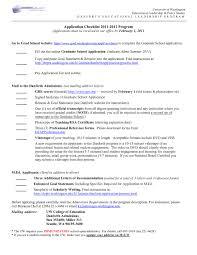 Graduate School Application Resume