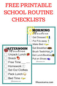 Adhd Morning Routine Chart Symbolic Adhd Routine Charts 2019