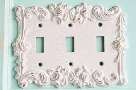 Decorative Light Switch Plates Triple Switch Plate Etsy