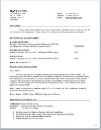 Sample Resume For Ece Engineering Students Best of Gallery Of Resume Format For Freshers Engineers Affordable Resume
