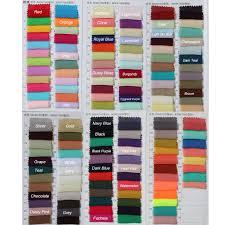 Honey Dress Color Chart