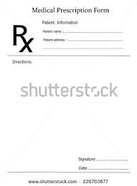 doctor prescription pad doctor s prescription template
