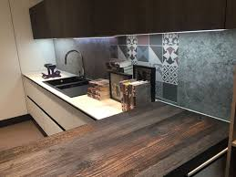 backsplash lighting. mixed patchwork for backsplash and led under cabinet lighting l