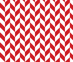 Small Red-White Herringbone fabric by gates_and_gables on Spoonflower -  custom fabric