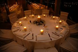 candles on wedding tables - Google Search